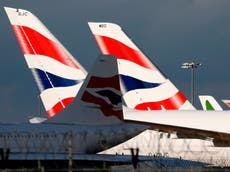 Heathrow passengers forced to fly without bags in half-term disruption