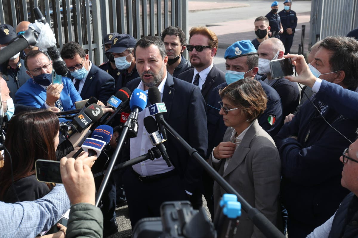 Italian ex-minister faces kidnapping trial for blocking migrant ship