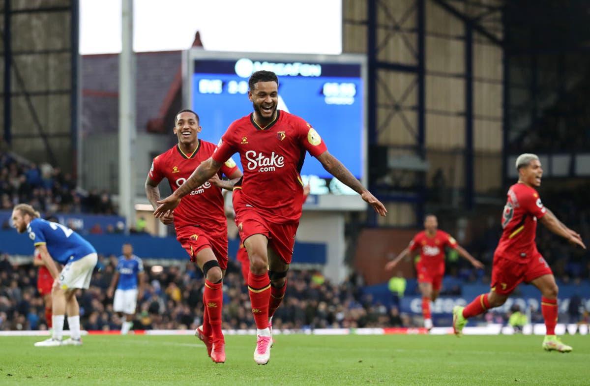 Joshua King nets hat-trick against former club as five-star Watford thrash Everton