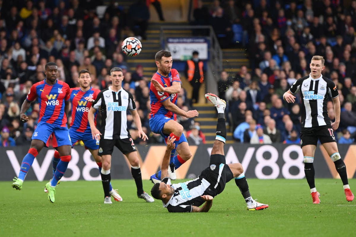 Callum Wilson earns draw for managerless Newcastle at Crystal Palace