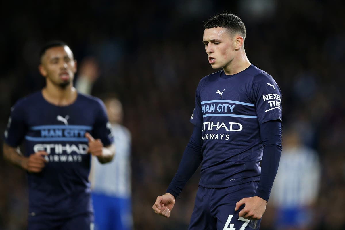 Phil Foden hailed as 'really special talent' after stand-out performance at Brighton