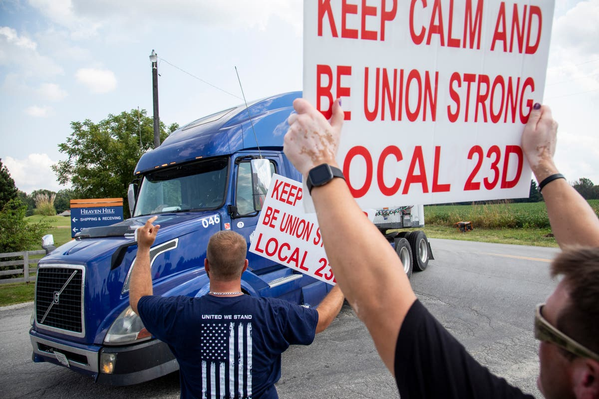Striking bourbon workers scheduled to vote on new contract