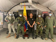 Colombia most wanted drug trafficker captured in jungle raid