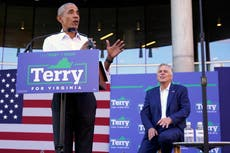 'He's not going to be a champion of democracy': Obama slams GOP candidate for NJ