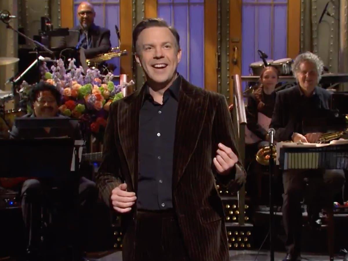 Jason Sudeikis can't explain Ted Lasso success on SNL
