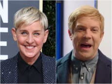 SNL poked fun at Ellen DeGeneres and her chat show in latest episode