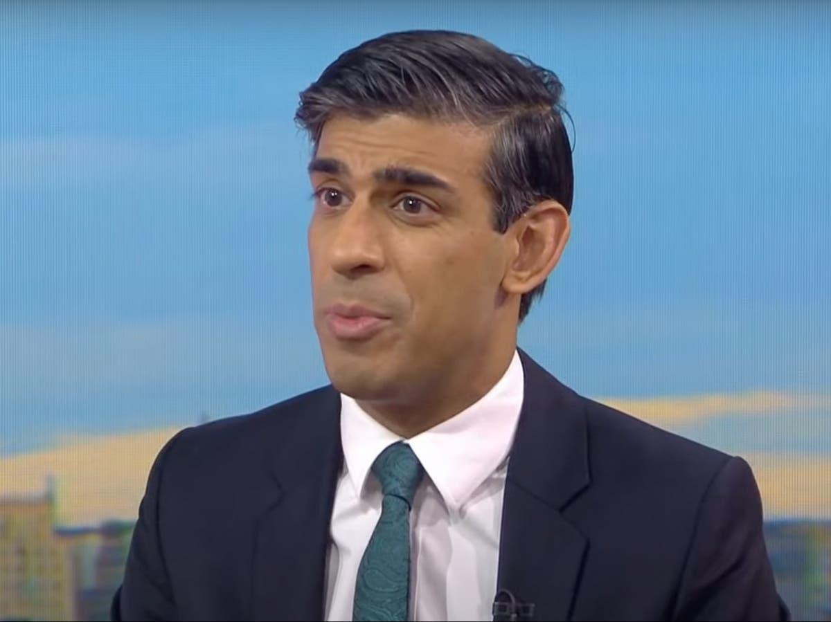 Rishi Sunak admits £7bn transport pledge has only £1.5bn of new money