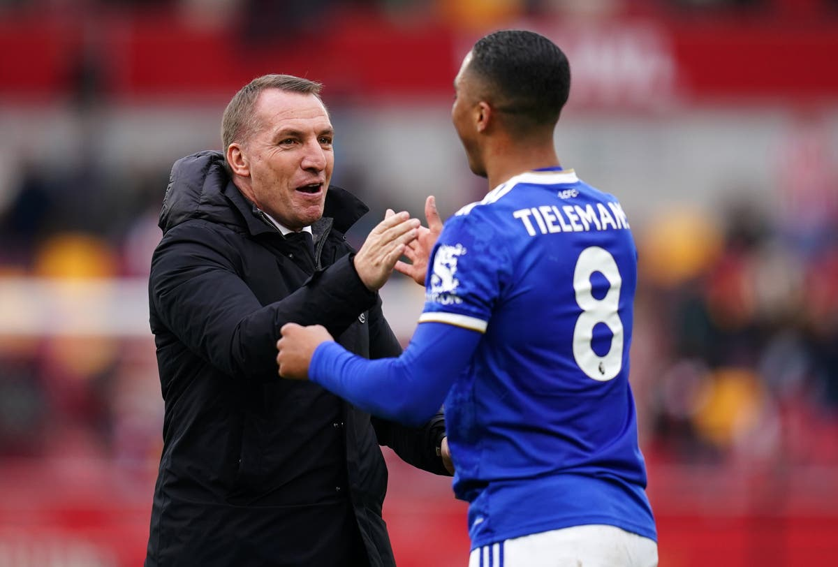 Brendan Rodgers still hopeful Youri Tielemans will sign new Leicester deal