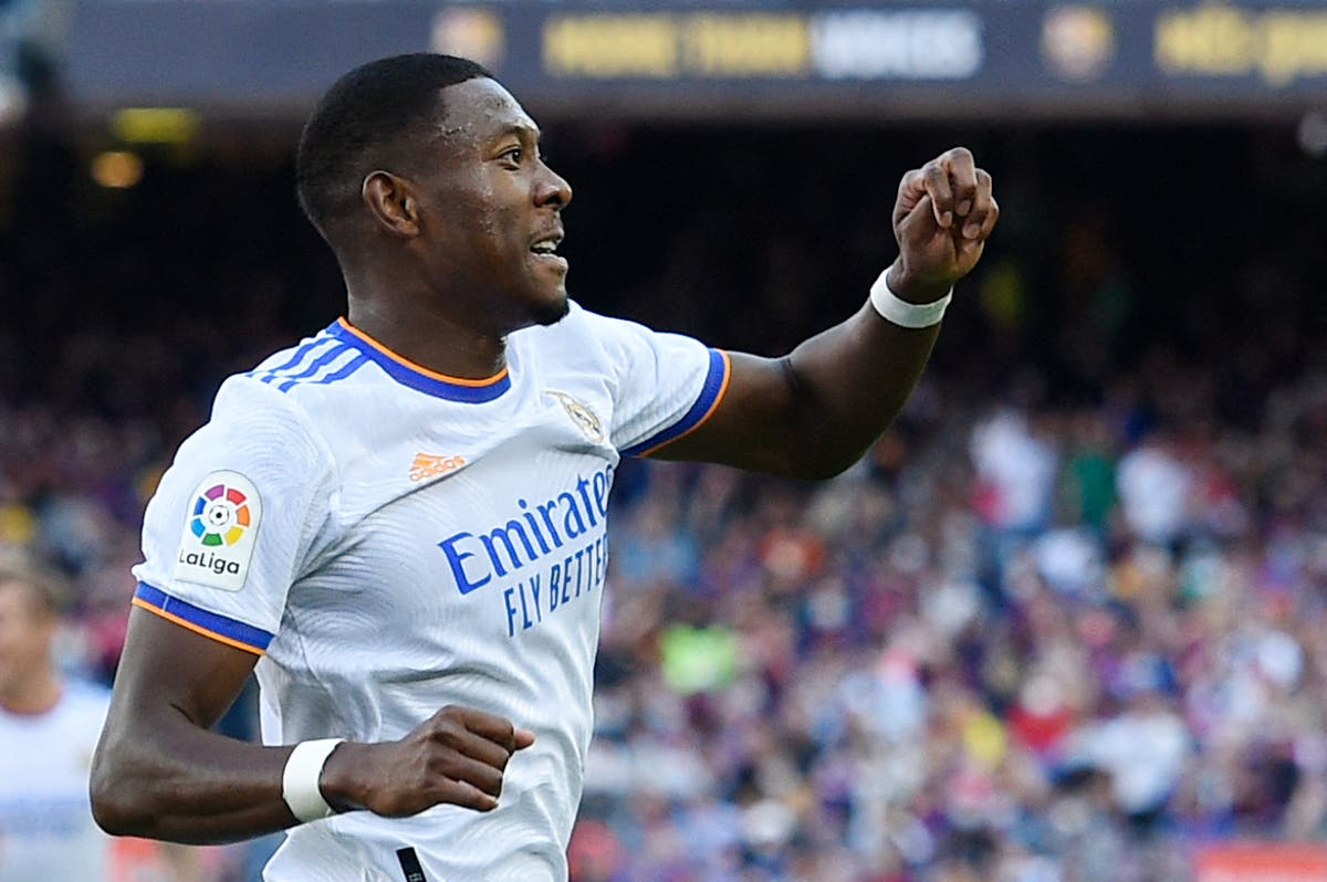 Player ratings from El Clasico as David Alaba stars in Real Madrid win over Barcelona
