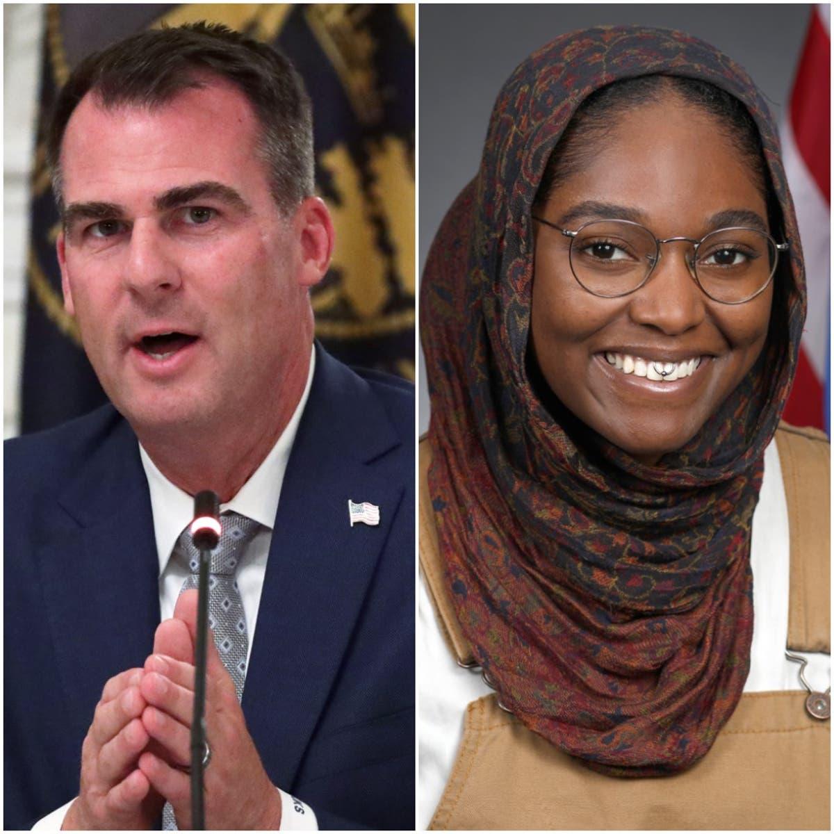 Nonbinary lawmaker and advocates criticise Oklahoma GOP for 'dangerous' rhetoric