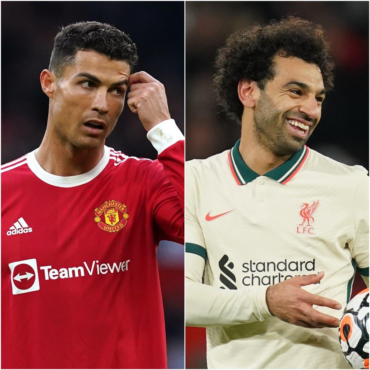 Mohamed Salah shines as Cristiano Ronaldo fumes in Old Trafford thrashing
