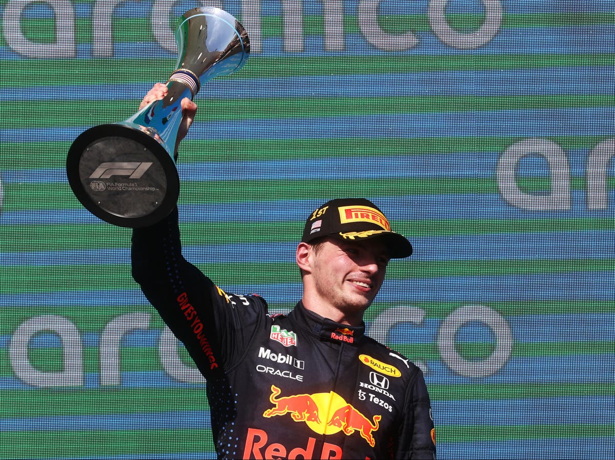 Lewis Hamilton suffers title blow as Max Verstappen holds on to win US Grand Prix