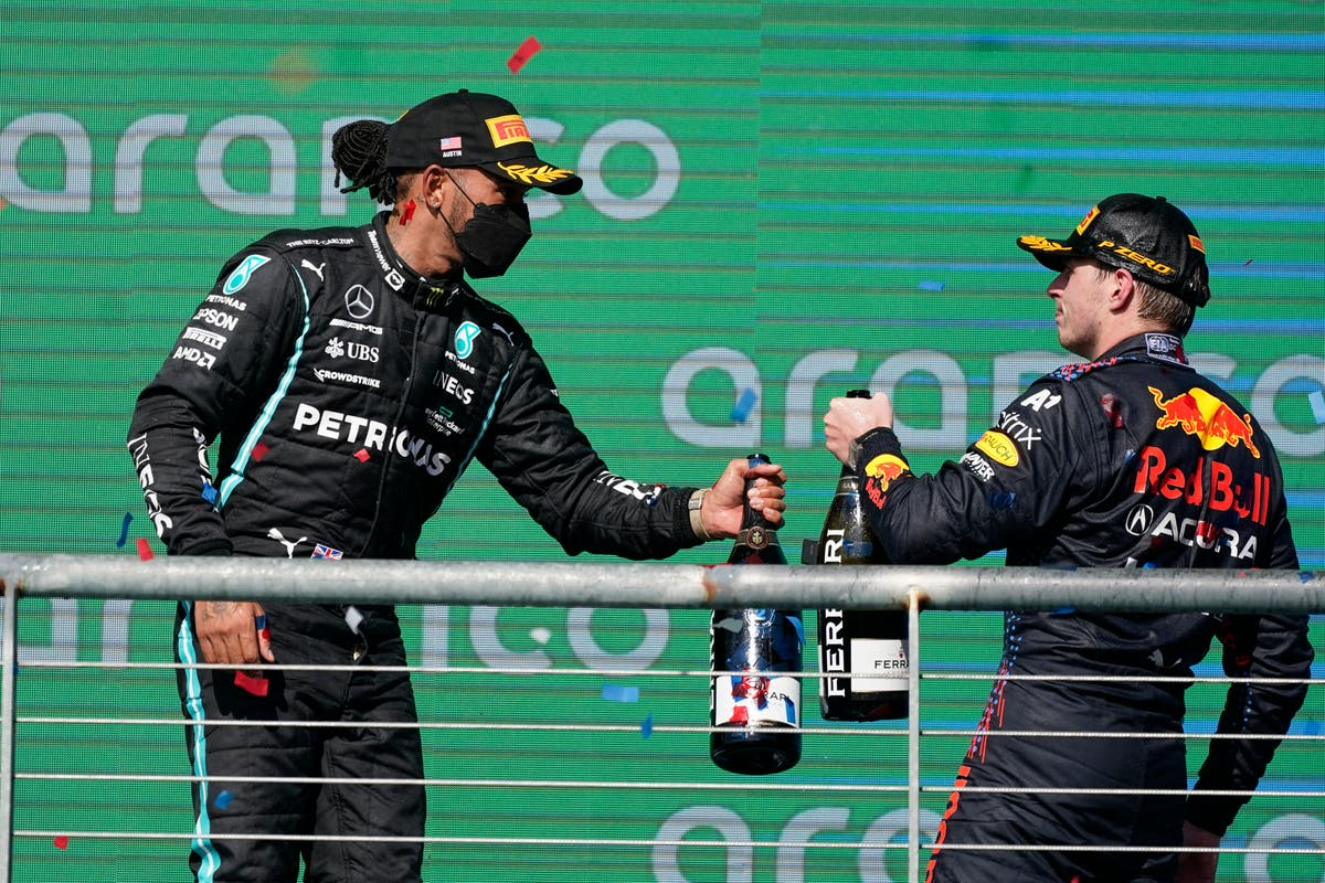 Lewis Hamilton 'living in the moment' ahead of 'tough' Max Verstappen battle