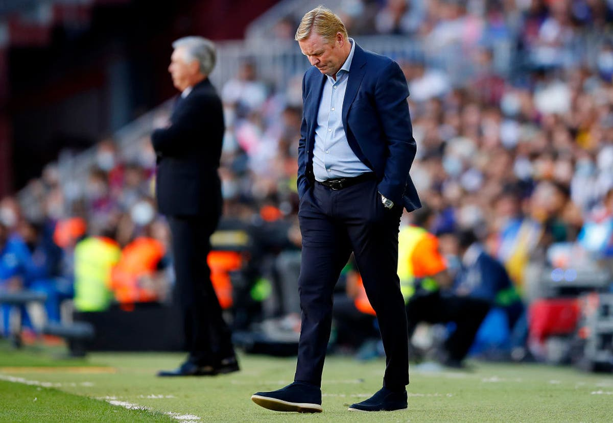 Barcelona are wasting a rebuild year with the no-win Ronald Koeman situation