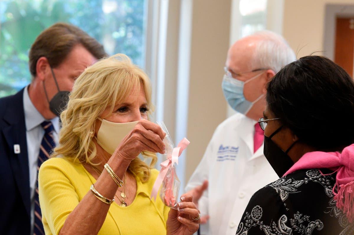Jill Biden: Cancer 'touches every American family'