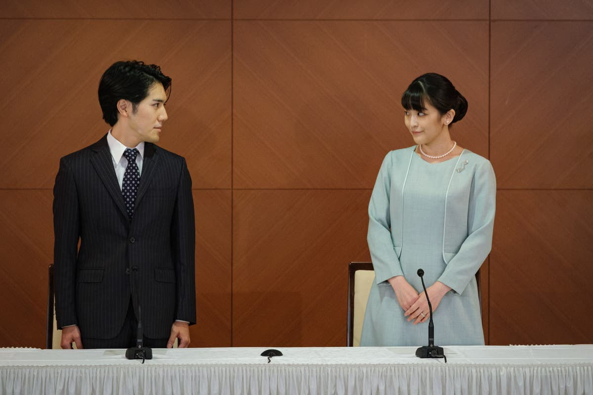 'You only live once': Japanese princess and new husband defend their marriage