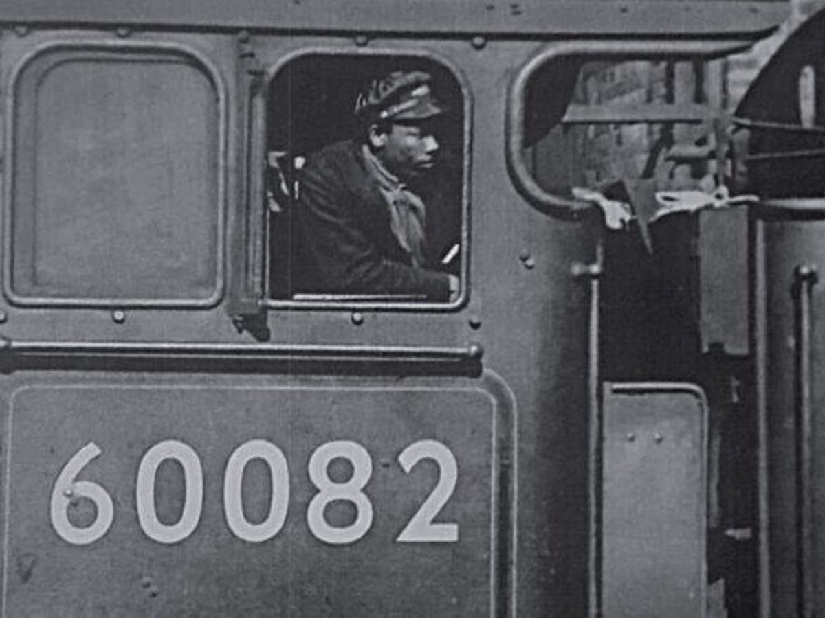 Blue plaque dedicated to Britain's first black train driver unveiled