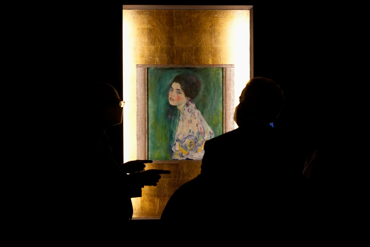 After years of 'hiding,'' Klimt work is a star in Rome show