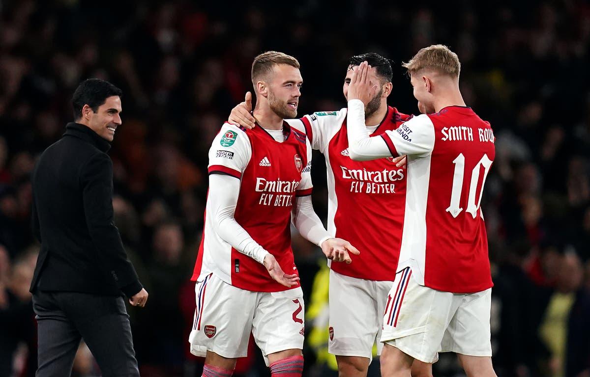 Calum Chambers makes instant impact as Arsenal brush aside Leeds