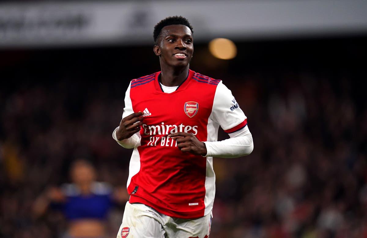 Mikel Arteta hopeful Eddie Nketiah will stay at Arsenal