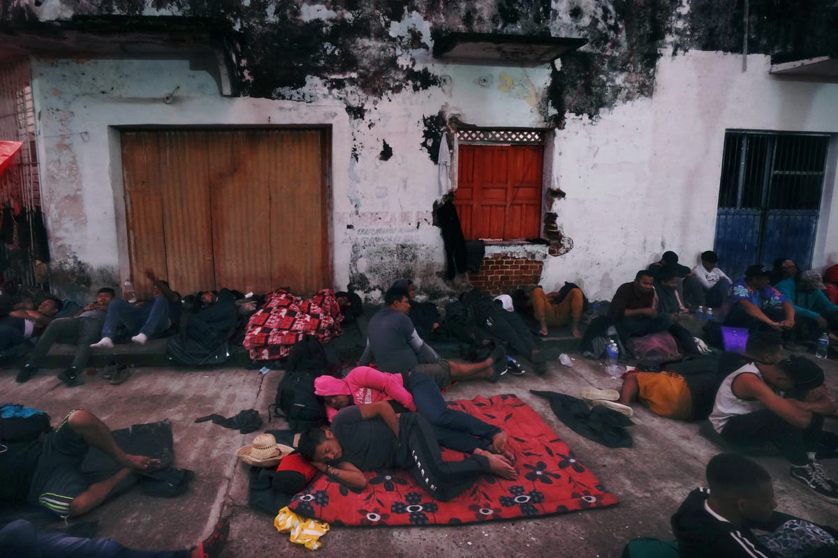 Familiar drive pushes migrant caravan through Mexico