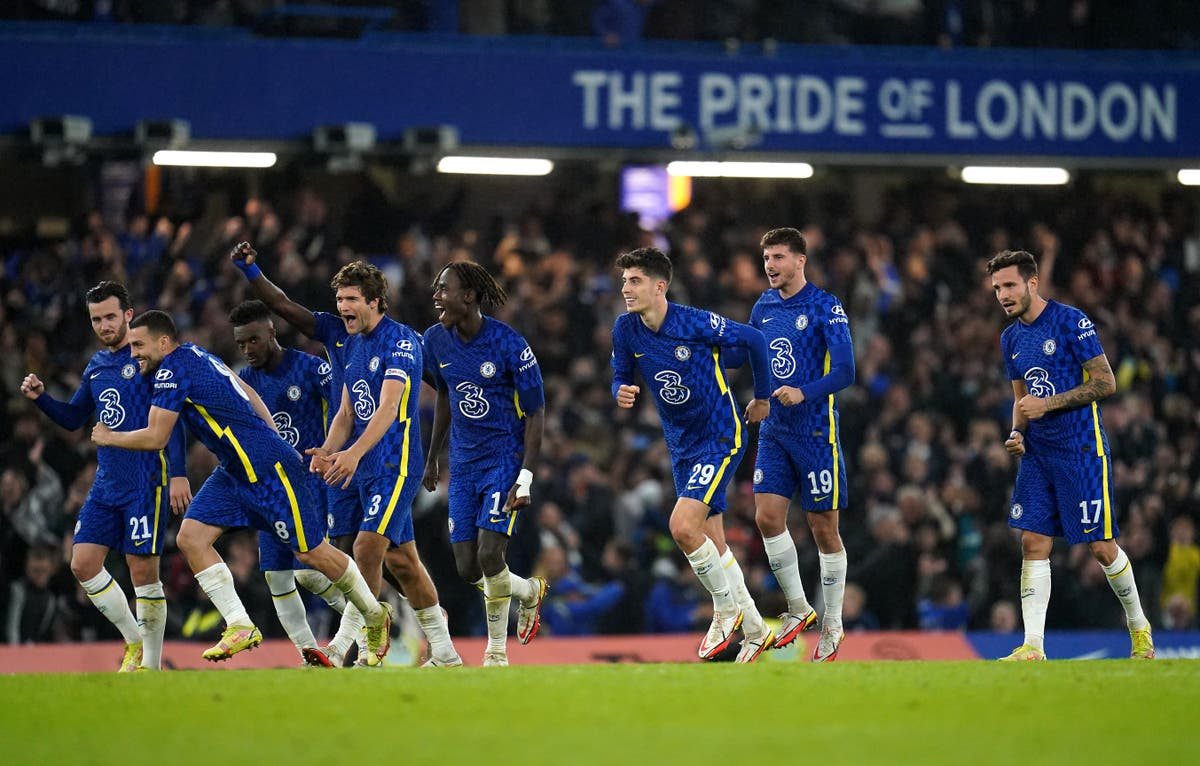 Thomas Tuchel happy to see Chelsea progress despite last-minute line-up changes