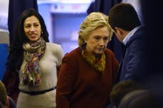 Ex-Clinton aide Huma Abedin says she was sexually assaulted by US senator