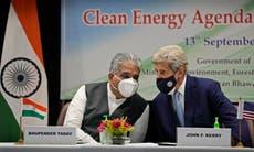 Net zero goals aren't the solution, says India before COP26