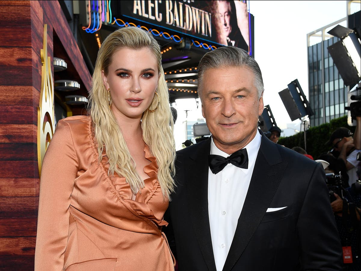 Alec Baldwin's daughter Ireland defends father against 'abhorrent comments'