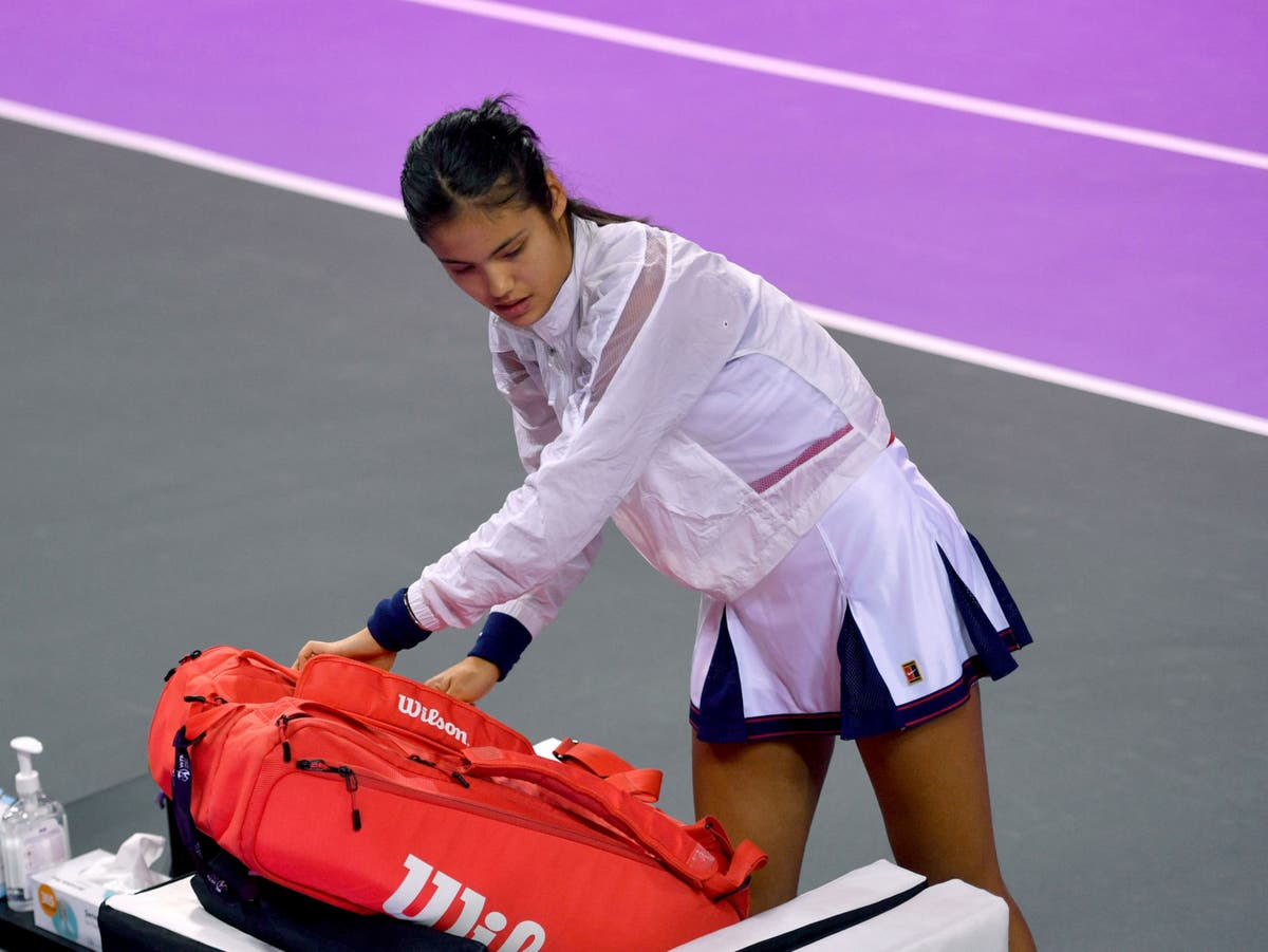 Emma Raducanu vs Ana Bogdan LIVE: Latest tennis match updates