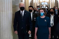 Biden unveils stripped back $1.75 trillion Build Back Better plan and delays trip to convince the Squad