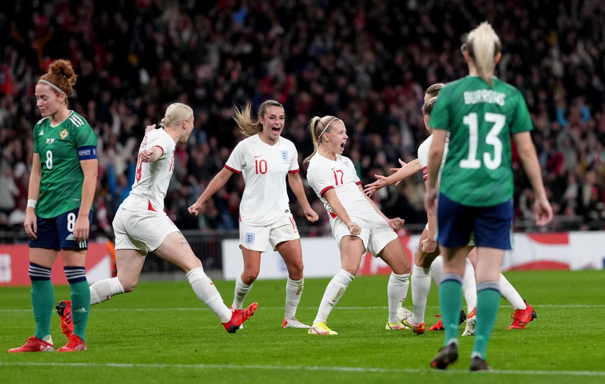 England and Northern Ireland drawn together at Women's European Championship
