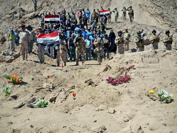 Iraq executes 36 ISIS militants