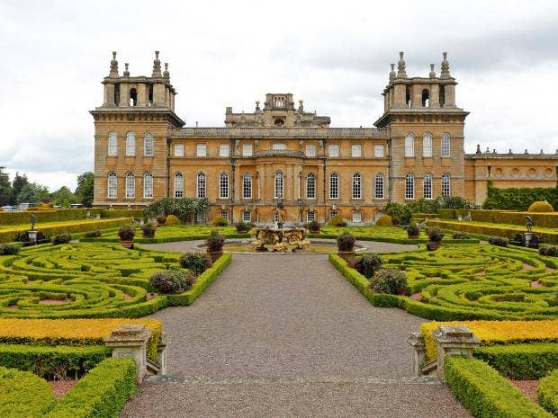 Second Battle Of Blenheim Plan To Build 1 200 Houses On