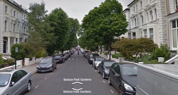 Belsize Park streetview.png