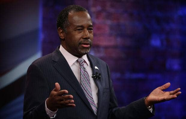 Ben Carson: President Obama Was 'Raised White, Didn't Grow Up Like Me'