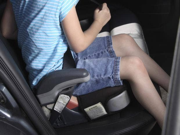 Children S Car Booster Seat Laws Uk