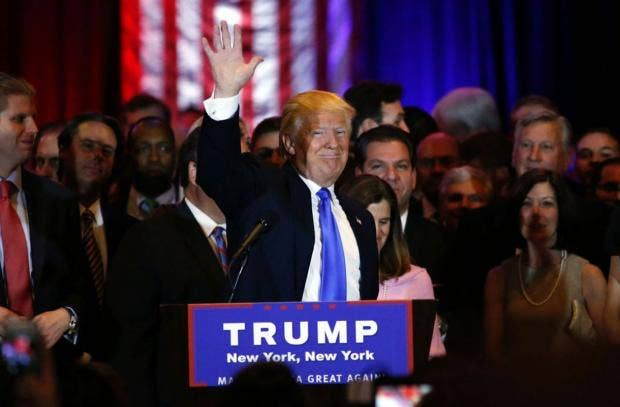 Donald Trump: 'I Consider Myself the Presumptive Nominee'