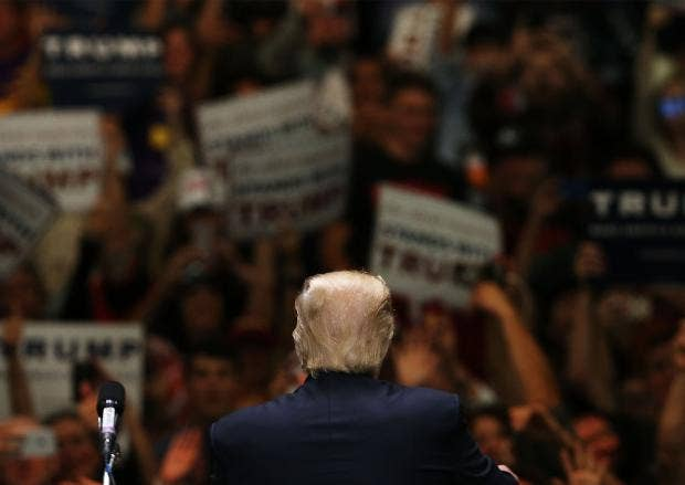Donald Trump says no to debating 'second place finisher' Bernie Sanders