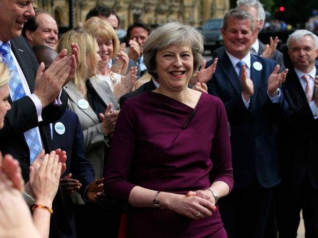 New UK Prime Minister Theresa May Vows to 'Build a Better Britain'