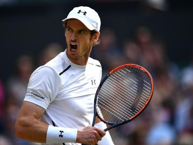 Murray wins 2nd set of Wimbledon final