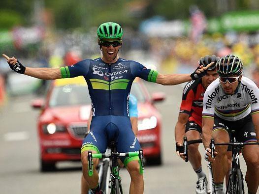 Matthews wins Tour de France Stage 10 after long breakaway