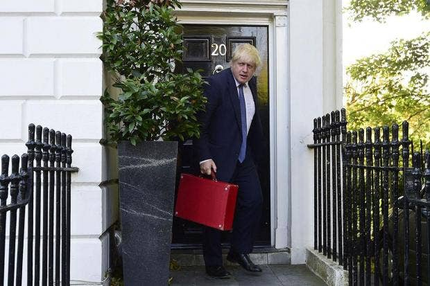 Russia Welcomes Boris Johnson as Britain's New Foreign Secretary