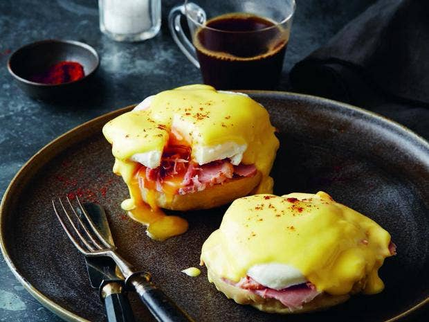 Brunch on Saturday: Homemade eggs benedict or out for a Scottish fry up