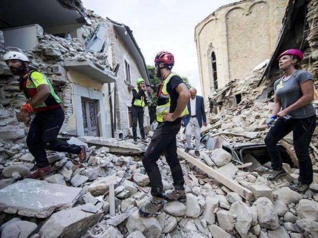 'The town is no more': Strong natural disaster kills hundreds in central Italy