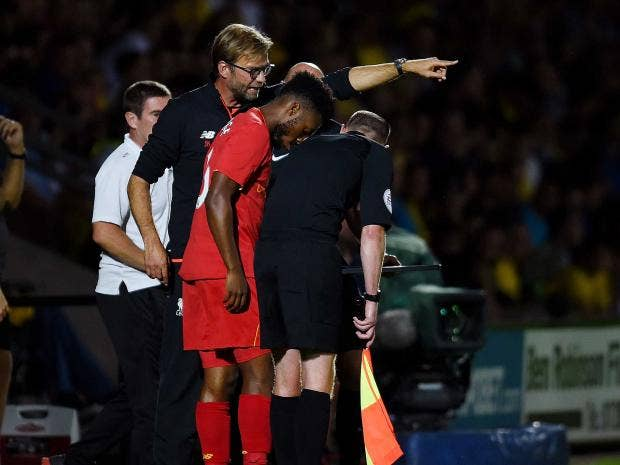 Liverpool: Sturridge makes plea to Klopp