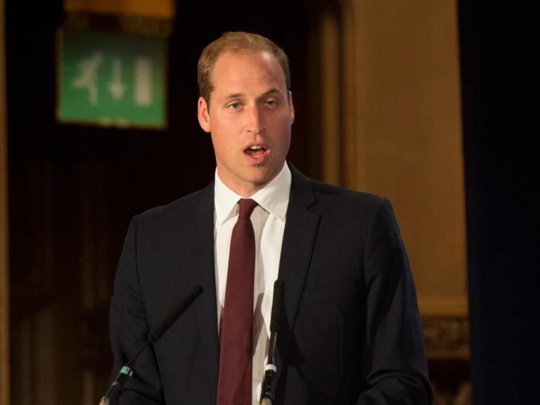 Prince William: We must take action to prevent extinction of 'iconic' animals
