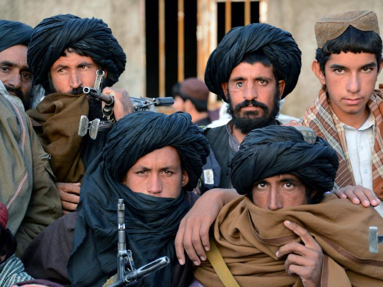 World Powers Seek Unlikely <strong>Alliance</strong> With Taliban As 'in...