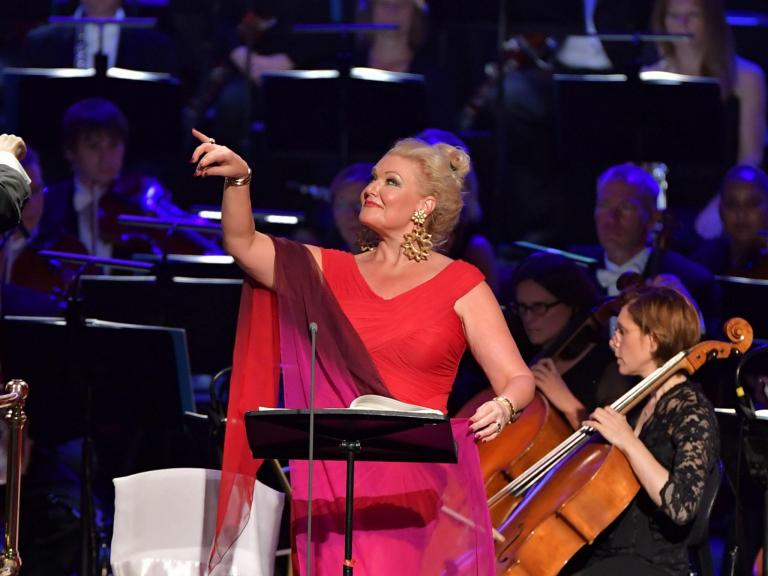 Prom 45: The Makropulos Affair Mattila/ BBC SO/Bělohlávek, Royal Albert Hall, review: 'Karita Mattila triumphed again'