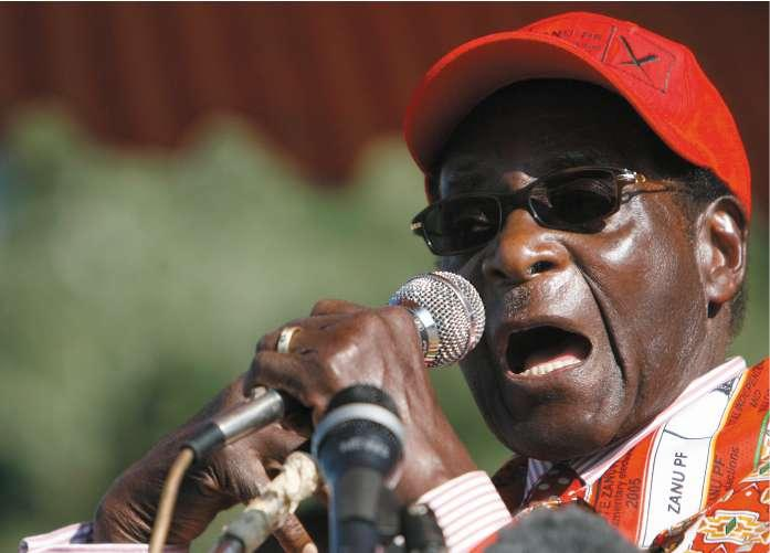 President Mugabe has offered to negotiate with the opposition but only after the ballot
